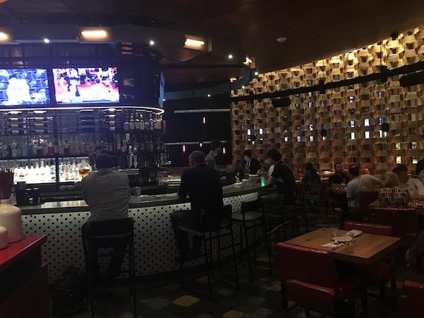 Bar with a Tony sighting.